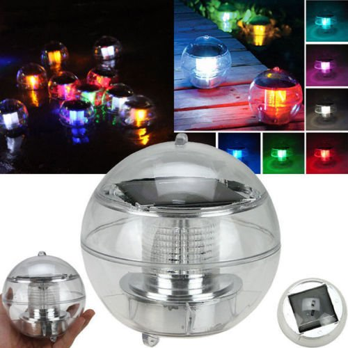 Outdoor Solar Color Changing Led Floating Lights Ball - 9