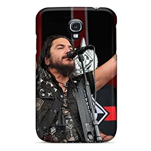 JohnPrimeauMaurice Samsung Galaxy S4 Scratch Resistant Hard Cell-phone Case Allow Personal Design Stylish Machine Head Band Image [mCp1044CijS]