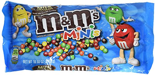 M&M's Candy, Milk Chocolate Minis, 10.8 Ounce (Pack of 6) by M&M's