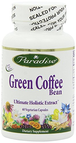 Paradise Herbs Green Coffee Bean - 60 Vegetarian Capsules