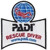 rescue merchandise - PADI Rescue Diver Emblem
