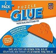 MasterPieces Pegamento para Rompecabezas Puzzle Glue, 5 onzas, paquete de 2