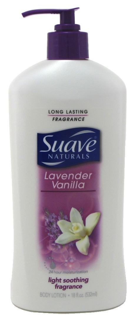 Body Lotion, Lavender & Vanilla, 18 oz, 2 pk by Suave