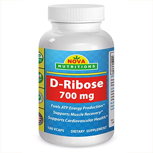 D-Ribose 700mg 180 Vcaps by No...