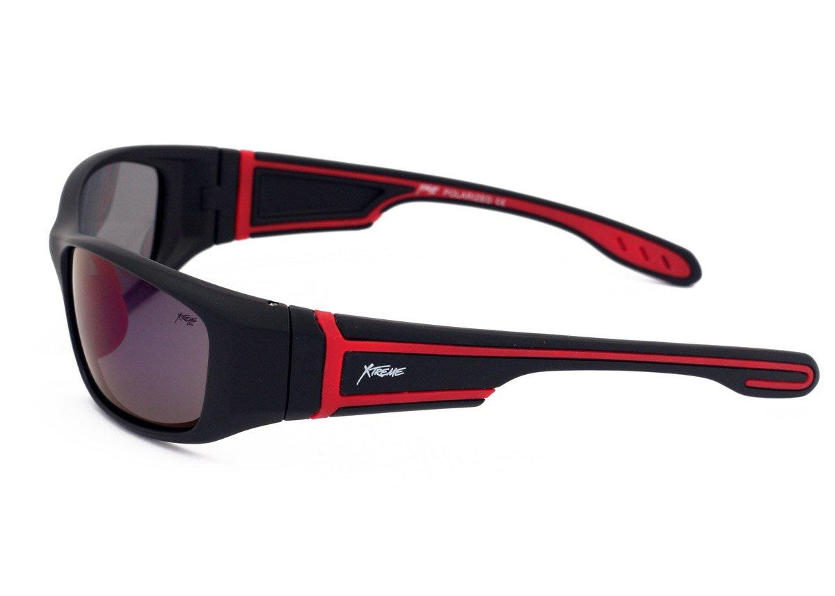 Xtreme Herren Sonnenbrille, polarisiert, Blau, verspiegelt, für Damen und Herren, Fahrrad, Outdoor-Sport, mit UV-Schutz, Blendschutz, Gläser
