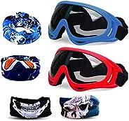 Gun Blaster Face Mask, Tactical Protective Goggles Glasses and Face Tube Mask for Nerf Guns N-Strike Elite Ser