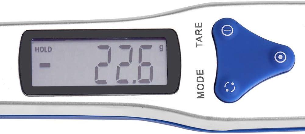 Preciso elettronico Digitale Cucchiaio Scala Peso 500//0.1g Bilancia da Cucina Strumento di misurazione con Display LCD