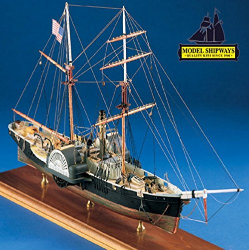 Model Shipways Civil War Harriet Lane Gunboat 3/32 Scale Blockade Runner Wood Kit - Model Expo - ON SALE!