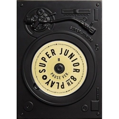 Super Junior - [Play] 8th Album Pause Ver CD+Booklet+Letter To Fans K-POP Sealed