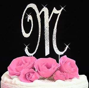 Monogram Cake Toppers Amazon