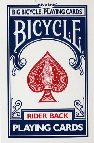 Jumbo Playing Cards Bicycle from Loftus by Bicycle