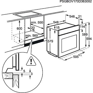 Aeg Bps551220m Pyroluxe Steam Bake Single Oven