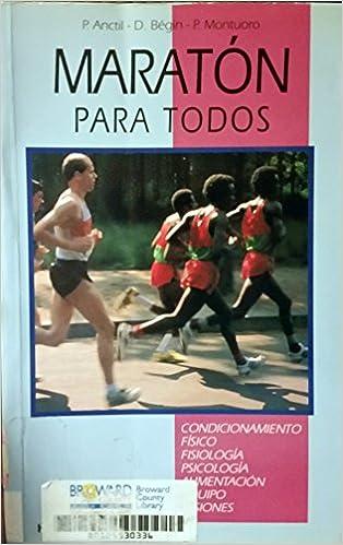 Descargar libros gratis en archivo pdf Maraton Para Todos (Herakles) 8425508045 in Spanish iBook