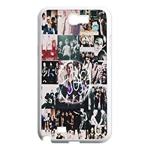 Retro Design The Music Band 5SOS2 for Samsung Galaxy Note 2 N7100 Case ATD270566