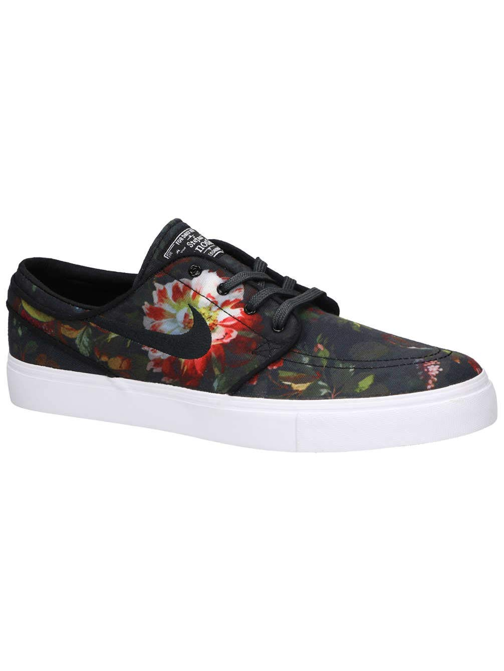 best sneakers db070 b55ad Galleon - Nike SB Zoom Stefan Janoski Canvas (9.5 D US, Multi-Color Black -White)