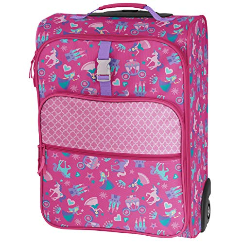 - Stephen Joseph All Over Print Luggage, Princess/Castle
