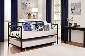 DHP Universal Trundle, Fits Most Daybeds, Black (Trundle Only)