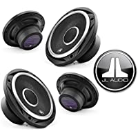 JL Audio C2-650X Evolution Series 6-1/2 2-way car speakers (2Pairs)