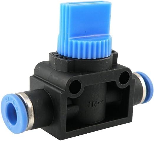 IQS-Pneumatik Winkel-Absperrhahn Druckluft Ventil Pneumatik-Steckverbinder