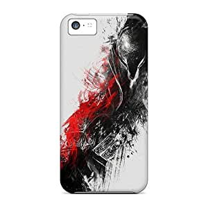 Scratch Protection Hard Cell-phone Cases For Iphone 5c With Unique Design High-definition Dark Souls Skin SherieHallborg