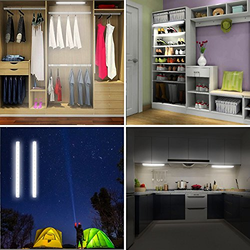 LED Mirror Lights, Portable Vanity lights | Simulated Daylight | 4 Brightness Level Touch Control | Rechargeable,Cordless Makeup Lights. by BESTCAN (Image #6)