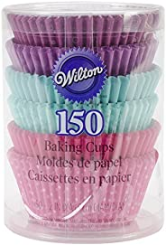 Wilton 415-2182 150 Count Baking Cups, Standard, Multi Color