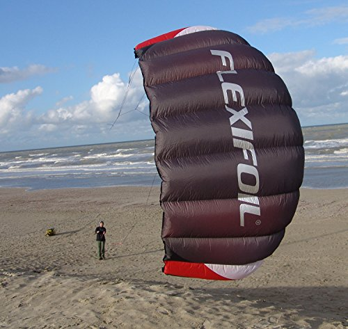 Flexifoil 3.3m2/3.1m Wide Sting 4-line Power Kite with 90 Day! By World Record Power Kite Designer - Safe, Reliable and Durable Power Kiting, Kite Training and Traction Kiting. by FLEXIFOIL (Image #6)