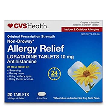 Amazon com: Expect More CVS Health Allergy Relief Loratadine