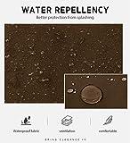 Syntus 2 Pack Adjustable Bib Apron Waterdrop