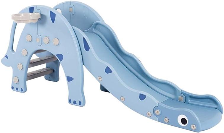 Tobogán De Plástico Tobogán De Interior para Niños Juguete Combinado para Niños Juguetes para Niños Al Aire Libre Tobogán De Jardín De Infantes (Color : Blue, Size : 173 * 32 * 74cm): Amazon.es: Hogar