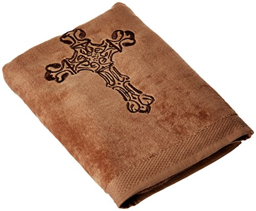HiEnd Accents Embroidered Cross Western Towel Set, ()