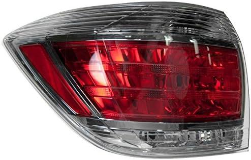 Tail Light Tail lamp Driver Passenger Pair for 11-13 Toyota Highlander Hybrid