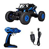 1 16 rock crawler motor - RC Car 2.4G 4CH 4WD Rock Crawlers 4x4 Driving Car Double Motors Drive Bigfoot Car HB-P1802 Remote Control Car High-speed Climbing Car Off-road Vehicle 1:18 Racing Car(USB)