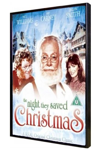 The Night They Saved Christmas DVD (1984) Art Carney [All-Region] Santa Claus
