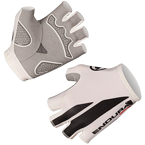 Endura FS260-Pro Print Mitt Cycling Glove White, Large