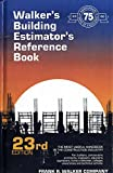Walker's Building Estimator's Reference Book, William Spradlin, 0911592237