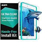 esr Screen Protector for The iPad 2018 9.7 inch, [Easy Installation Frame], 9H Hardness HD Clear Premium Tempered Glass Screen Protector for The iPad 2018/2017/iPad Air 2/iPad Air/iPad Pro 9.7