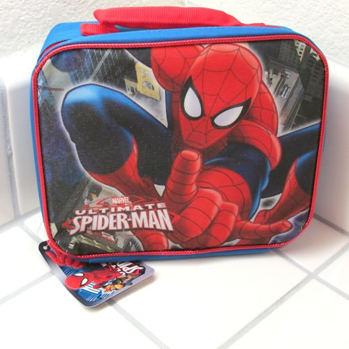 Ff Box (Marvel Ultimate Spiderman Spider-man Soft Sided Lunch Kit Box Lunch Bag)