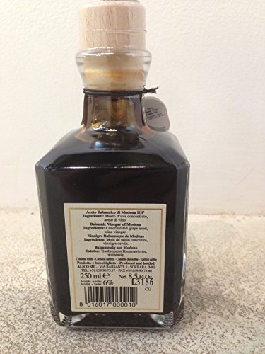 Fattoria Estense Balsamic Vinegar Gold Label (1 X 8.5 OZ) 2 8.5 oz Previously labeled as 12 year balsamic vinegar Imported from Modena, Italy