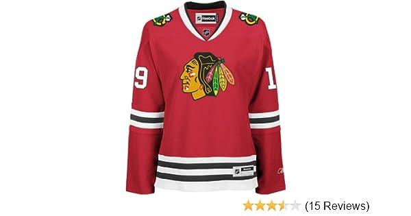 93f09fee00c Amazon.com : NHL Chicago Blackhawks Jonathan Toews Women's Premier Player  Road Jersey : Sports Fan Jerseys : Clothing