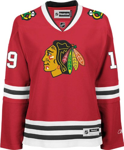 1260dd641db NHL Chicago Blackhawks Jonathan Toews Women's Premier Player Road Jersey,  Red, Small