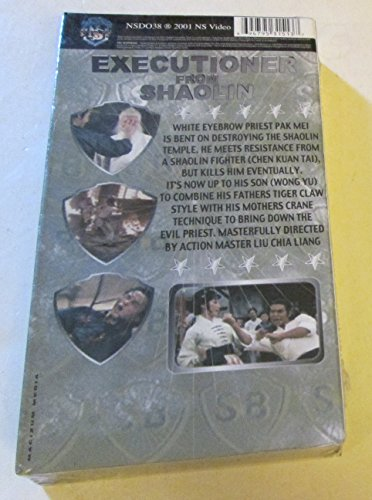 Executioners from Shaolin [VHS]