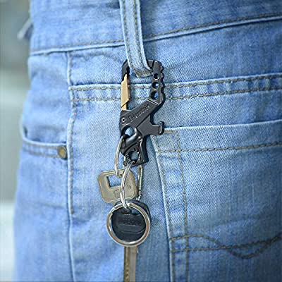 Hephis Bottle Opener Key Chain,Bigger Heavyduty Keychain,Car Key Chain for Men and Women(Silver and Gold): Automotive