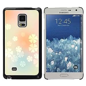 MOBMART Carcasa Funda Case Cover Armor Shell PARA Samsung Galaxy Mega 5.8 - Light Floral Purity