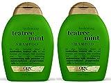Ogx Hydrating Shampoo - Tea Tree Mint - 13 oz - 2 pk