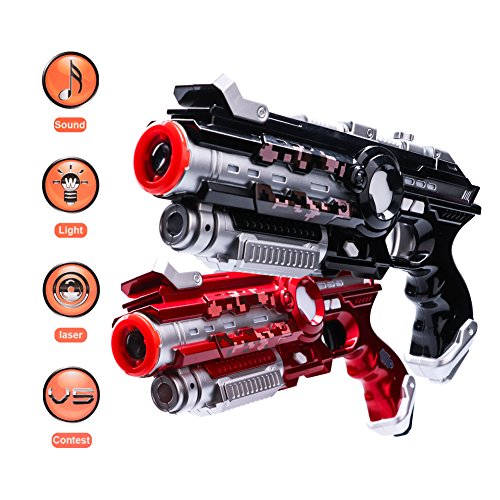Aomeiqi Infrared Laser Tag, Laser Guns Toy Blasters Game for Indoor and...