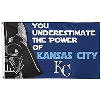 Kansas City Royals Star Wars Darth Vader 3x5 Deluxe Flag