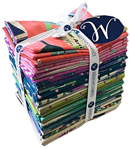 Windham DREAMER Fat Quarter Bundle 28 Precut Cotton Fabric Quilting FQs Assortment Carrie Bloomston by Windham Fabrics
