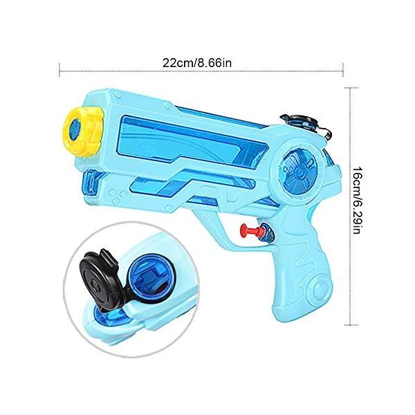 Pistole ad Acqua Giocattolo Pistola per Bambini e Adulti Estivi All'aperto per Divertimento, 350ML Summer Giocattoli… 2 spesavip