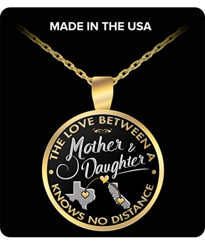 Long Distance Gift Texas California The Love Between A Mother